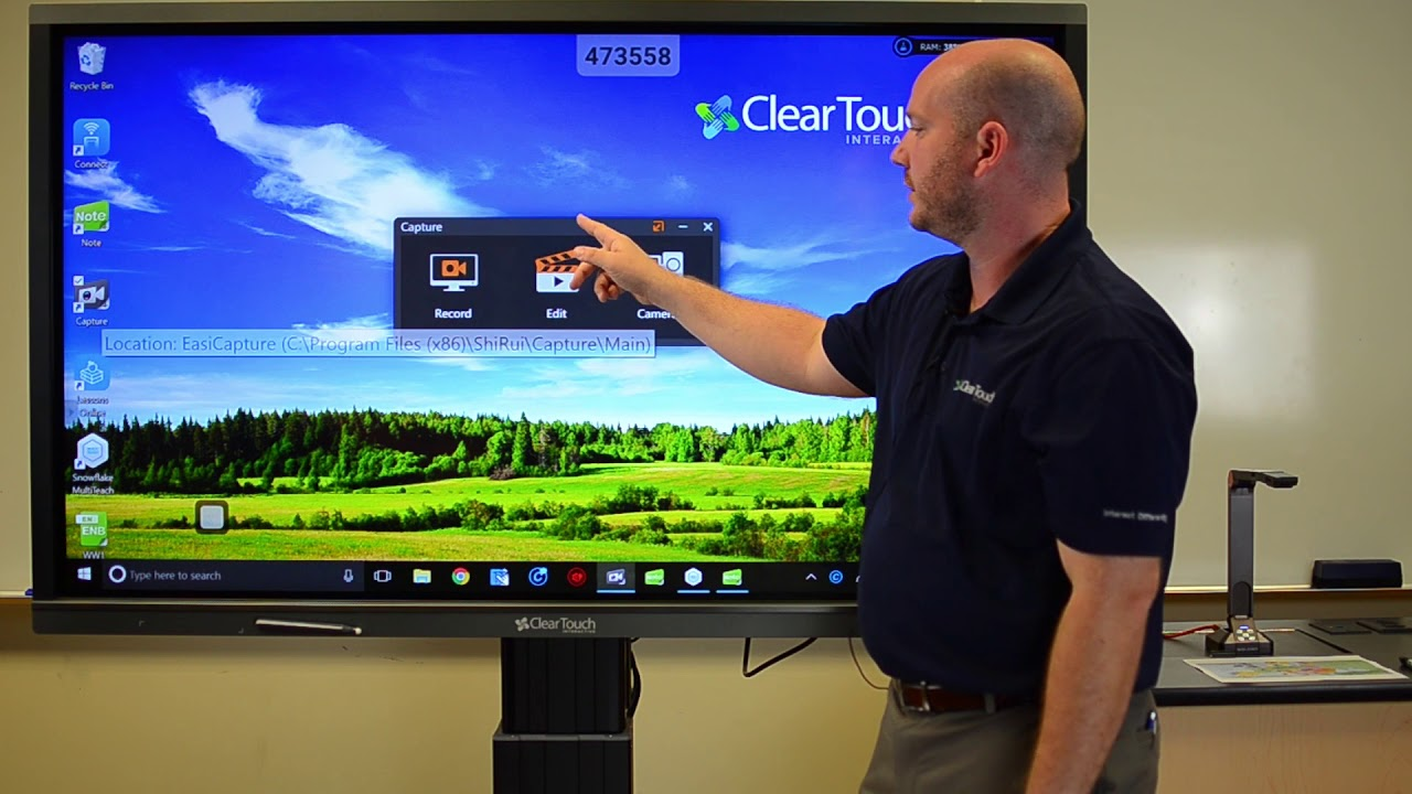 Interactive Screens and Interactive LCD Touch Screens | Touchboards