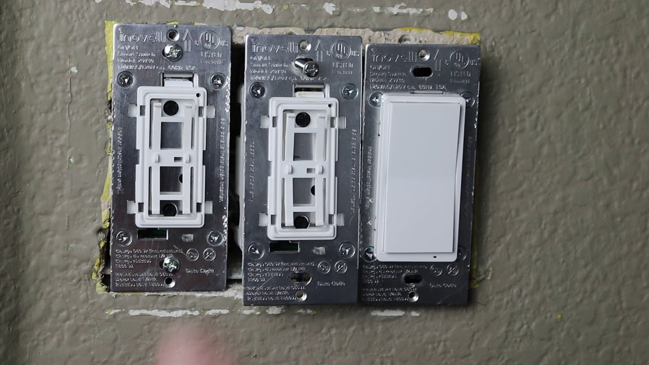 Inovelli 3 Way Install Youtube Wiring With Dimmer