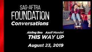 Conversations with Aisling Bea & Aasif Mandvi of THIS WAY UP