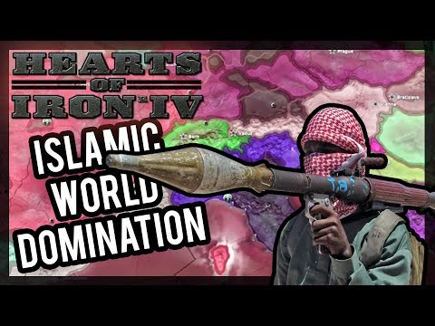 HOI IV - ISLAMIC CIVIL WARS ACROSS THE WORLD |