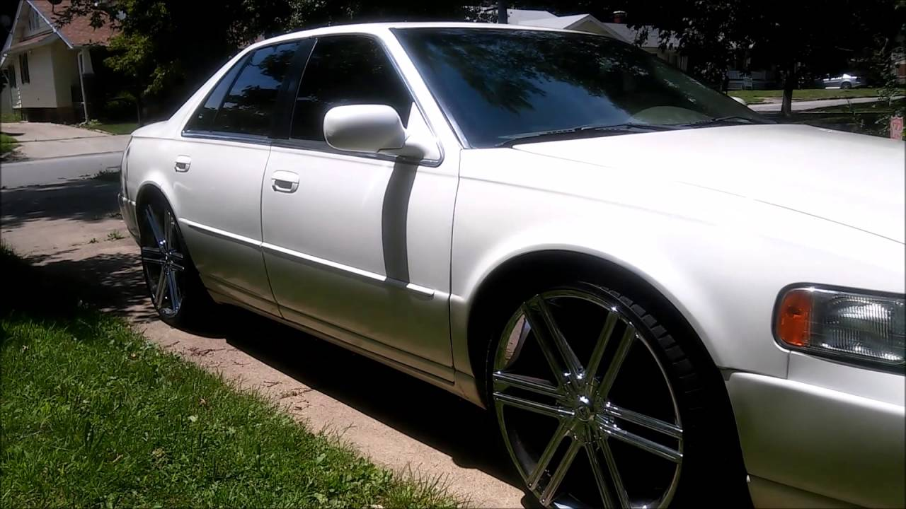 99 Cadillac STS On 22s