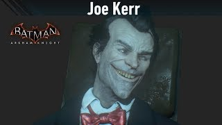 SKIN; Batman; Arkham Knight; Joe Kerr