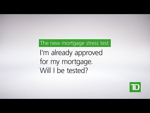 TD – New Mortgage Rules: Mortgage Pre-Approval