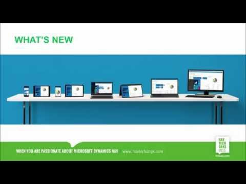 NAV TechDays 2015:  NAV 2016 - Phone client  Webclient enhancements  Windows 10