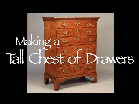 Chest of Drawers Building Process by Doucette and Wolfe Furniture Makers