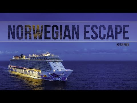 Norwegian Escape Cruise Ship, December 2017