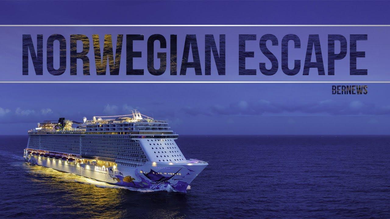 Norwegian Escape Cruise Ship December 2017 Youtube