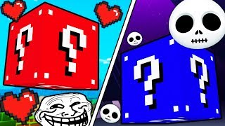 HOW TO PRANK YOUR FRIENDS IN MODDED MINECRAFT LUCKY BLOCK SKYWARS