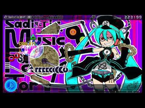PS3 Project DIVA F - Sadistic. Music∞Factory (裏) EDIT Perfect