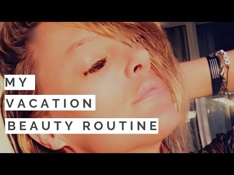 MAKEUP TIPS: My Skin-Friendly Beach Beauty Routine For Vacation | Shallon Lester