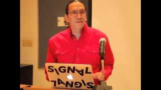 Michael Greyeyes at the Performing Turtle Island Gathering