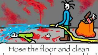 Disposal of the Body in E Major Cannibal Corpse parody