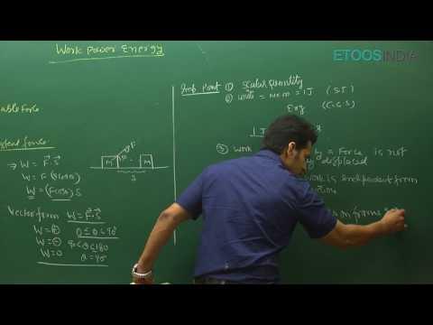 NEET I Physics I Work Power Energy I Asgar Khan AGKSir From ETOOSINDIA.COM
