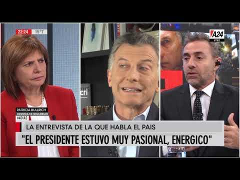 La opinión de Patricia Bullrich sobre la entevista entre Macri y Majul
