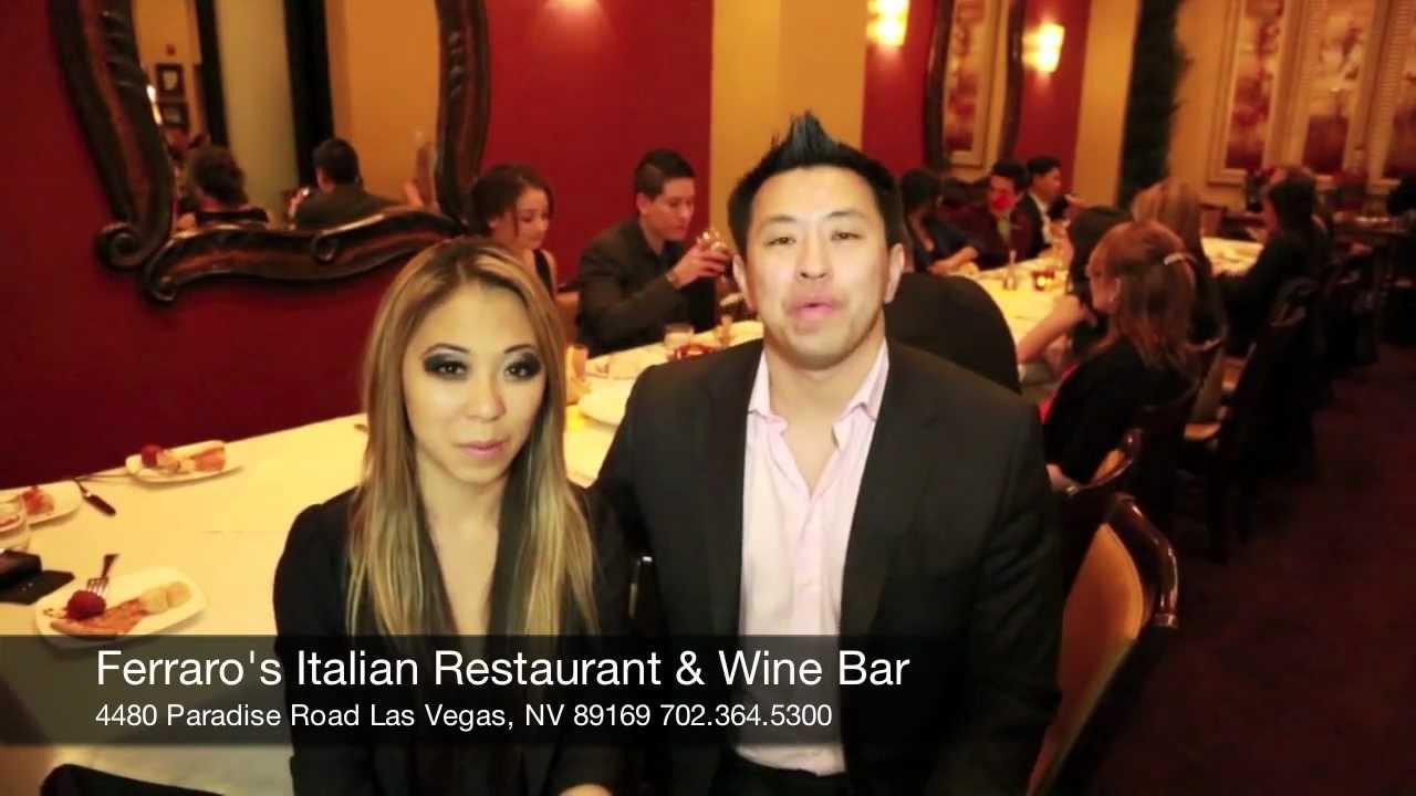 Las Vegas Italian Restaurant With Free Wine