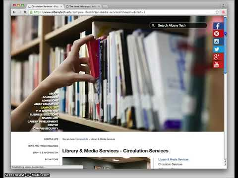 Albany Technical College Library Online Orientation download