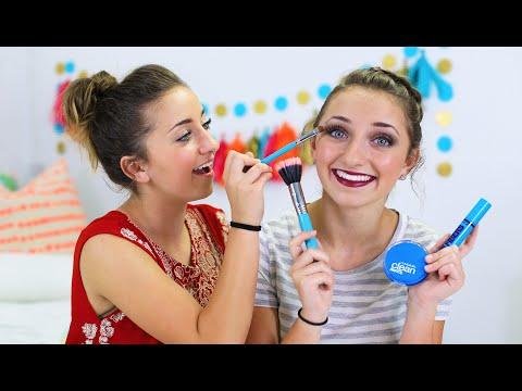 Brooklyn's Homecoming Makeup Look | Brooklyn and Bailey