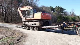 Taking The Hitachi To The Sawmill