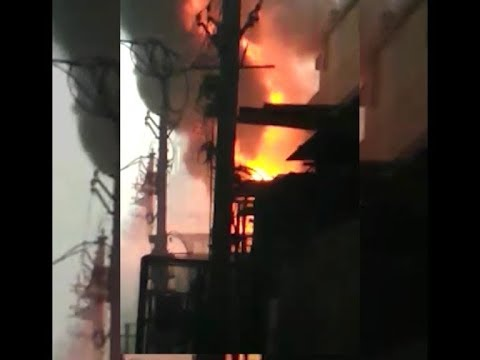 Delhi: Fire breaks out in Narela Industrial Area factory, 25 fire brigades on spot