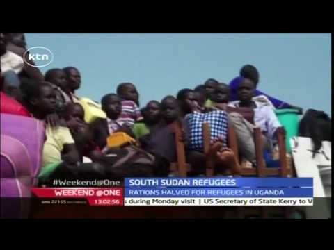The UN plans to have food rations for 200,000 refugees in Uganda
