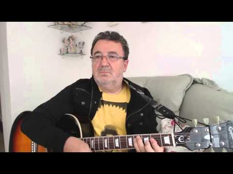 Ferry Across the Mersey guitar cover lesson