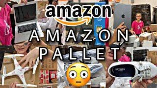 Amazon Pallet Devoluciones De Clientes De Amazon Electronicos Ropa Y Zapatos Youtube