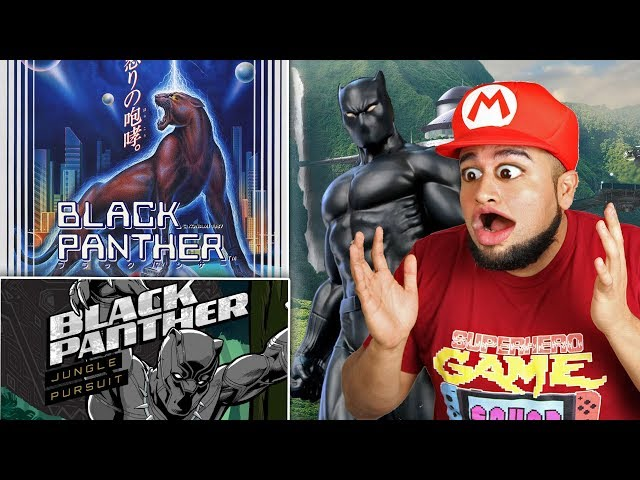 Black Panther Games No One Knew Existed Reacting To Black Panther