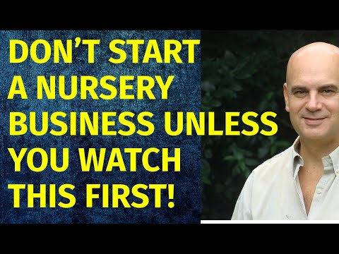 How To Start A Nursery Business | Including Free Nursery Business Plan Template