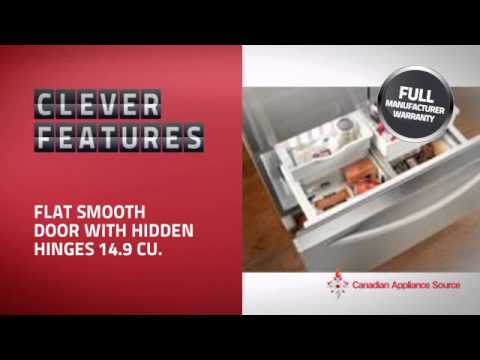 KitchenAid KFIS20XVMS Counter Depth Refrigerator