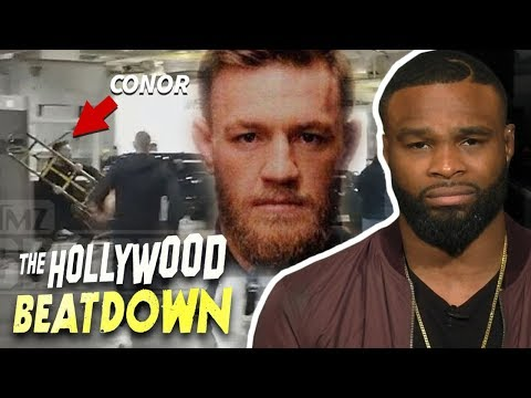 "Tyron Woodley Says Conor McGregor Is ""A Disgrace To Mankind"" 