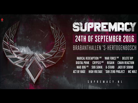 SUPREMACY Mix 2016 (50 tracks, 60 minutes)
