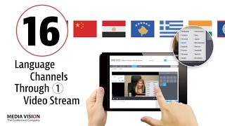 Multichannel Streaming and Recording from Media Vision