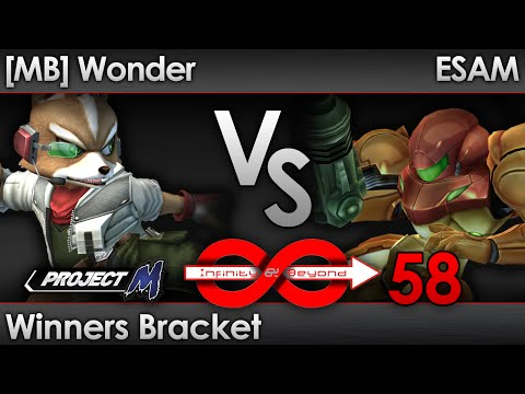 IaB! 58 PM - [MB] Wonder (Fox) vs ESAM (Samus) - Winners Bracket