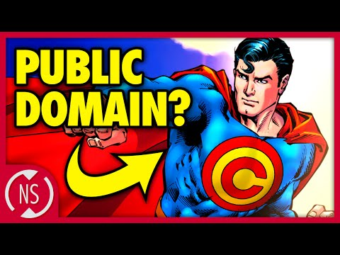 Why Isn't SUPERMAN a PUBLIC DOMAIN Superhero?? || Comic Misc