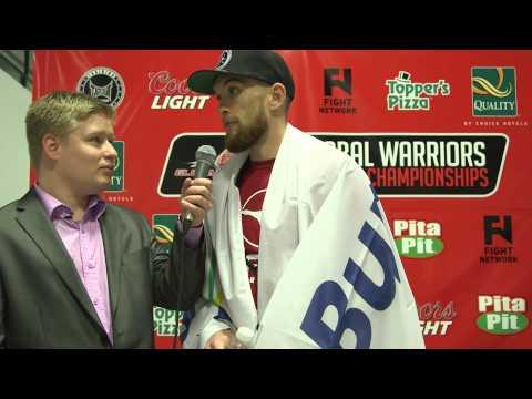 Dave Hale vs Thomas Sumantri Pre Fight Interveiws Global Warriors Fighting Championship May 29, 2015