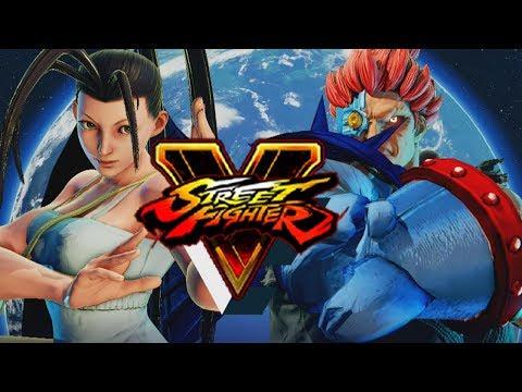 IBUKI VS. CYBER DEMON: Akuma - Street Fighter 5 (Online Matches)