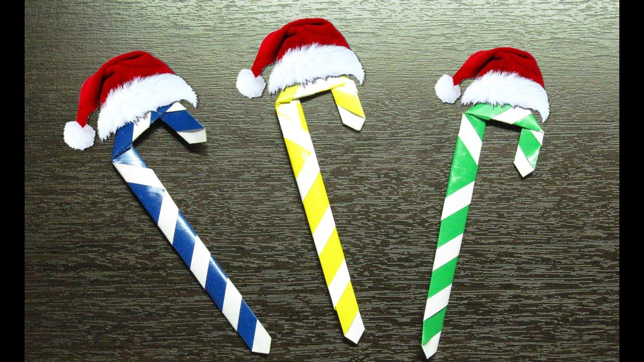 Como hacer un caramelo de papel para adornar tu hogar en for Cosas para hacer de navidad faciles