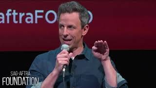 Seth Meyers on the best advice he got on pitching jokes