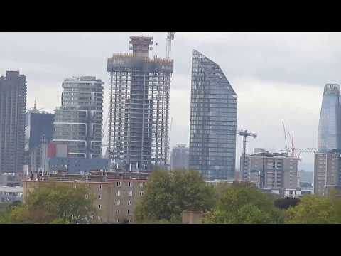 London Skyline October 24 2017