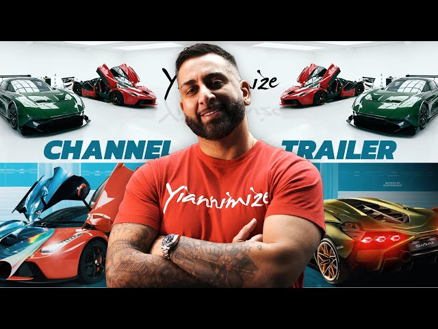 The Yiannimize Channel Trailer
