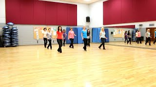 Bright Lights And Country Music - Line Dance (Dance & Teach in English & 中文)