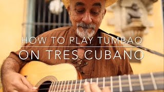Repeat youtube video How To Play Tumbao in A minor on Tres Cubano as played by Pancho Amat