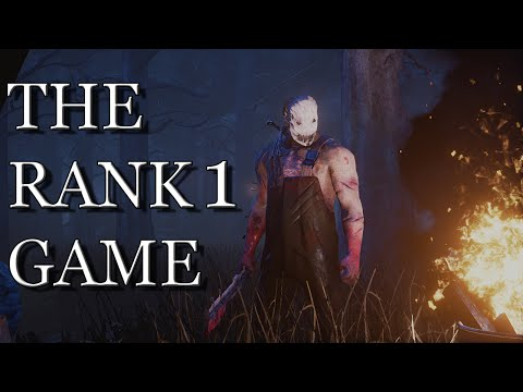 THE RANK 1 GAME - Dead by Daylight