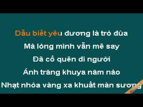 Chen Dang Karaoke - Đàm Vĩnh Hưng - CaoCuongPro