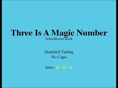 Three Is A Magic Number - Easy Guitar (Chords and Lyrics) - YouTube