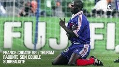 France-Croatie 98 : Thuram raconte son doublé surréaliste