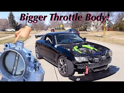 Chrysler Crossfire   Upgraded Throttle Body Install