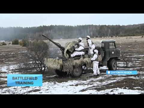 Battlefield Training: Large military drills take place in Zh
