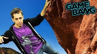 KINECT ROCK CLIMBING FAIL (Game Bang)