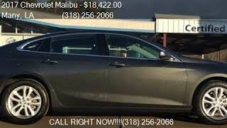 c6465411-d656-48da-bc3c-cb5fd4a967e9 2017 Chevrolet Malibu Lt 4dr Sedan For Sale In Many La
